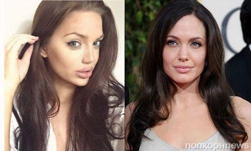 Фото: у Анджелины Джоли обнаружился очередной двойник