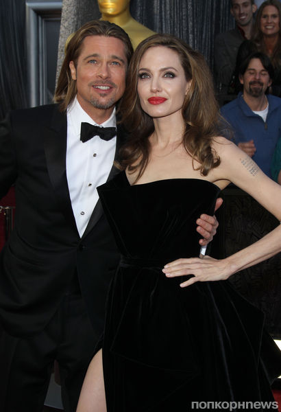 Брэд Питт и Анжелина Джоли помолвлены с Рождества