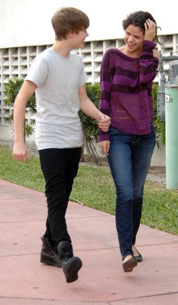 Селина Гомес и Джастин Бибер в Майами