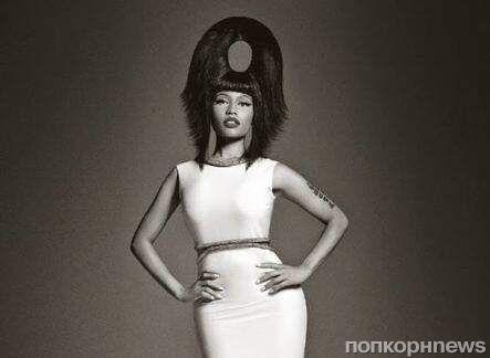 Ники Минаж в журнале  Vogue Италия. Декабрь 2014