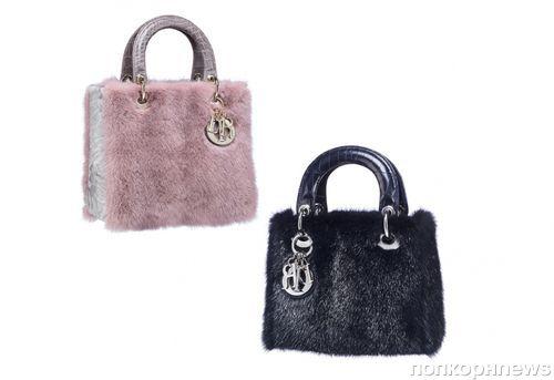 Новая коллекция сумок от Christian Dior. Осень / зима 2012-2013