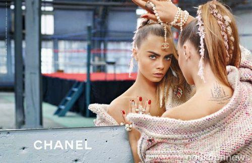 Кара Делевинь в рекламной кампании Chanel. Осень 2014: первый взгляд