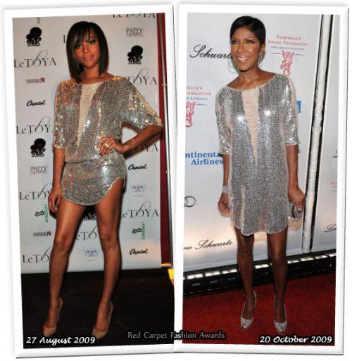 Fashion battle: ЛеТойя и Натали Коул