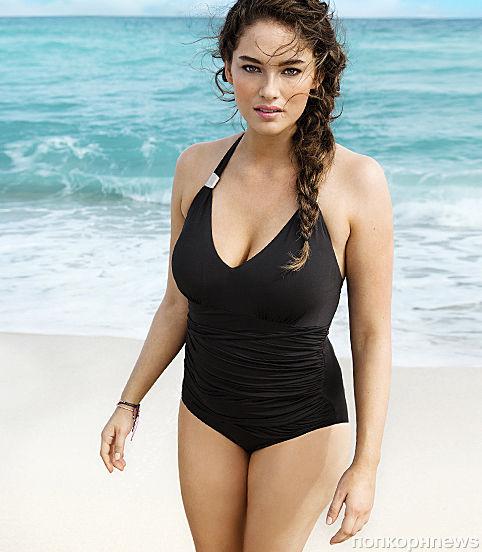 H&M выбрали для рекламной кампании купальников нехудую модель