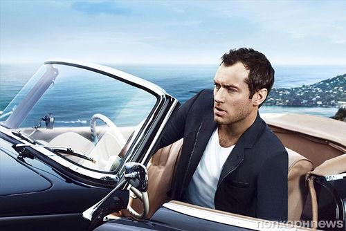Джуд Лоу в рекламной кампании аромата Dior Homme Cologne