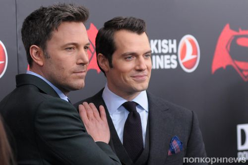Бен Аффлек и Генри Кэвилл ответили на критику фильма «Бэтмен против Супермена»