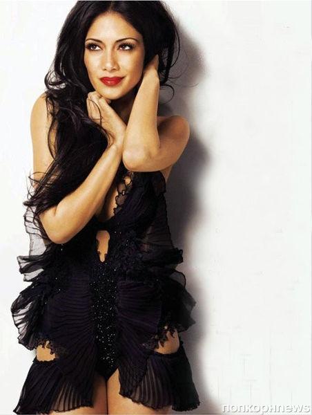 Николь Шерзингер в журнале Glamour UK. Январь 2012