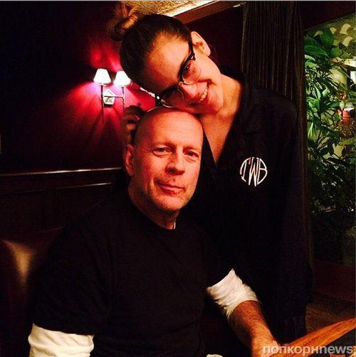 Дочь Деми Мур и Брюса Уиллиса попала в реабилитационный центр