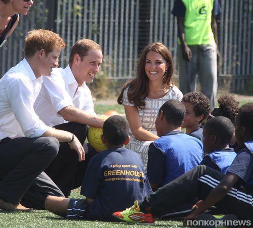 Королевская семья встречает Олимпиаду