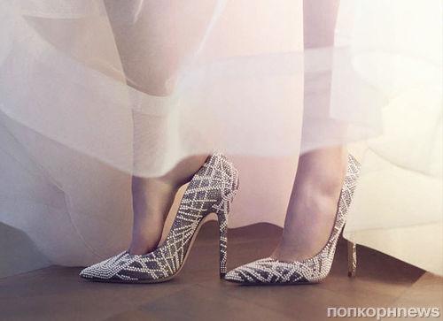 Jimmy Choo представили свадебную коллекцию обуви