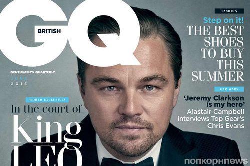 Леонардо ДиКаприо украсил обложку британского GQ, июнь 2016