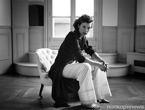 Милла Йовович в журнале The Edit. Январь 2014