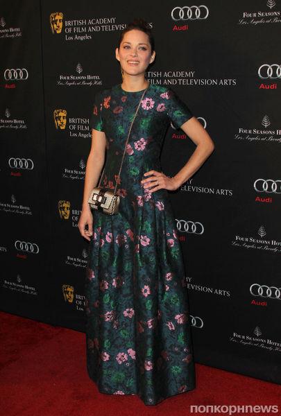 Звезды на чайной вечеринке BAFTA