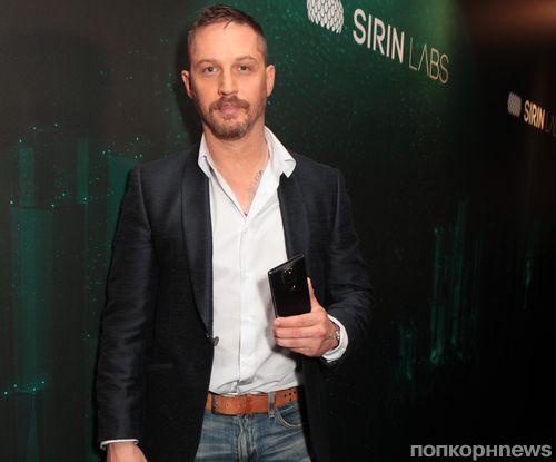 Том Харди меняет телефоны, чтобы не стать жертвой хакеров