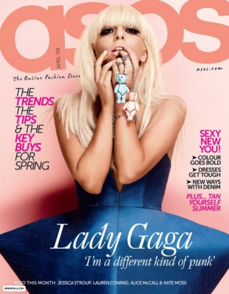 Lady GaGa в журнале ASOS Magazine. Апрель 2009