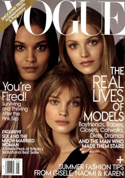 Новые фотосессии для Vogue US. Май 2009