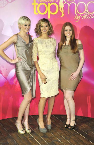 "Хайди Клум на премьере шоу ""Germany's Next Top Model"""
