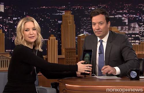 Видео: Кейт Хадсон спародировала Адель на шоу Джимми Фэллона