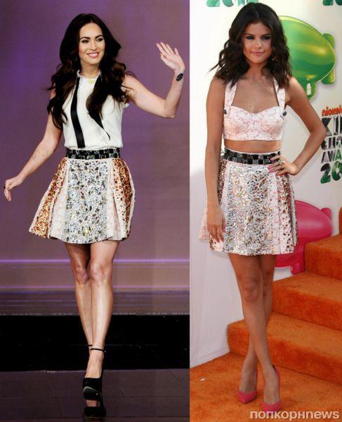 Fashion battle: Меган Фокс и Селина Гомес