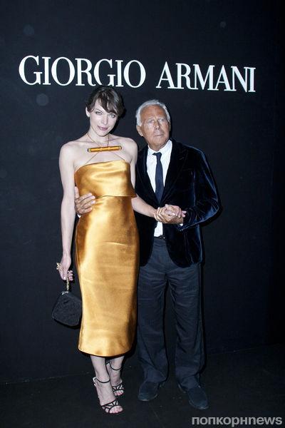 Звезды на званом вечере Джорджио Армани в Риме