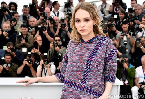 Лили-Роуз Депп стала «лицом» нового аромата Chanel