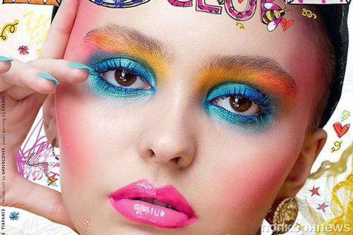 Фото: 16-летняя дочь Джонни Деппа и Ванессы Паради на обложке Love Magazine
