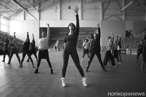 Видео с репетиции Бейонсе перед Суперкубком