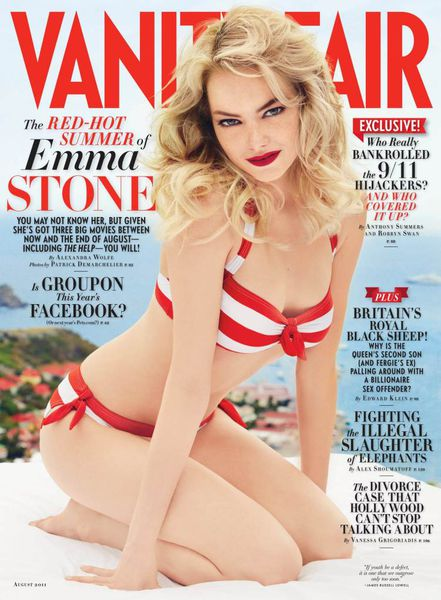 Эмма Стоун в журнале Vanity Fair. Август 2011
