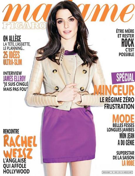 Рэйчел Вайс в журнале Madame Figaro