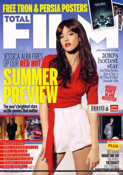 Джессика Альба в журнале Total Film. Июнь 2010