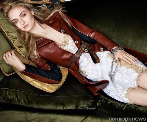 Звезду «Игры престолов» Софи Тернер заставляли худеть ради ролей