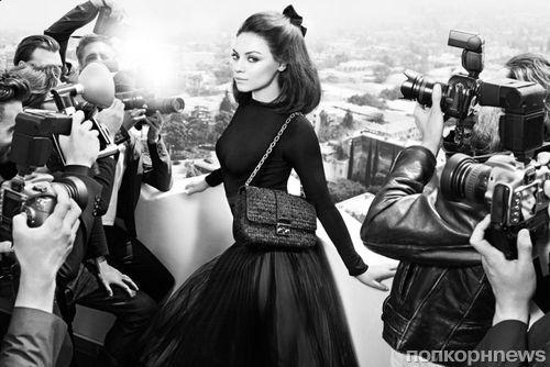 Первый взгляд на Милу Кунис в рекламной кампании Miss Dior. Осень / зима 2012-2013