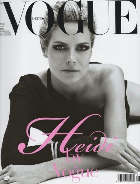Хайди Клум в журнале Vogue. Германия. Июнь 2009