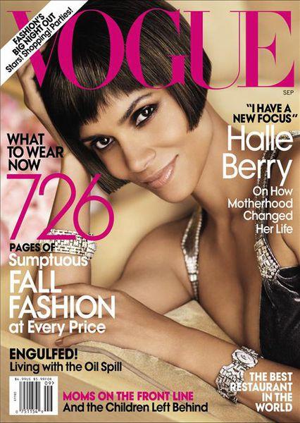 Халли Берри в журнале US Vogue. Сентябрь 2010