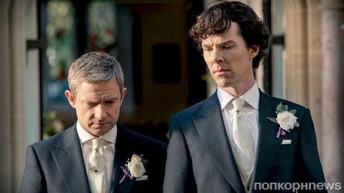 Съемки 4 сезона «Шерлока» завершены