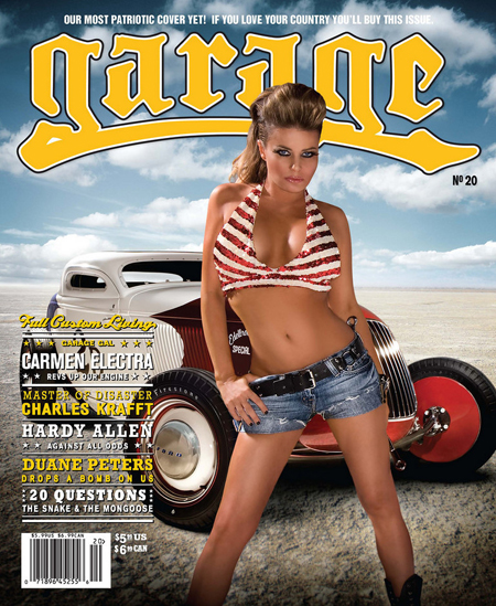 Кармен Электра в журнале Garage. Январь 2010