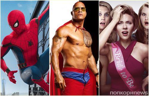 Лето 2017 в кино: супергерои, подружки невесты и сексуальные спасатели