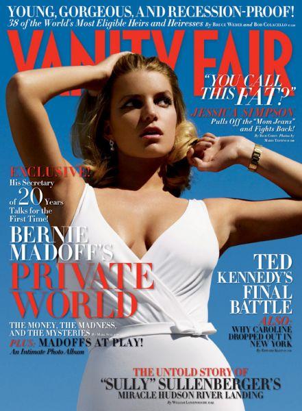 Джессика Симпсон в журнале Vanity Fair. Июнь 2009