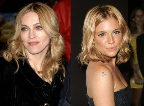 Мадонне нравится Сиенна Миллер