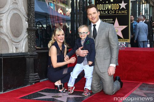 Фото: Крис Прэтт получил звезду на голливудской Аллее славы