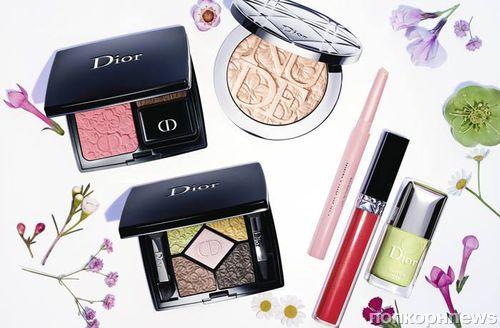 Новая коллекция декоративной косметики Dior Glowing Gardens. Весна 2016