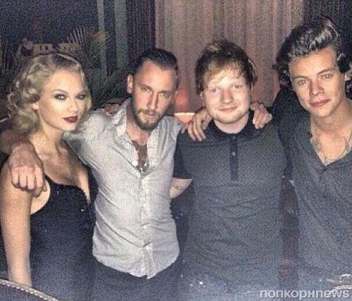 Тейлор Свифт и Гарри Стайлс встретились на MTV Video Music Awards