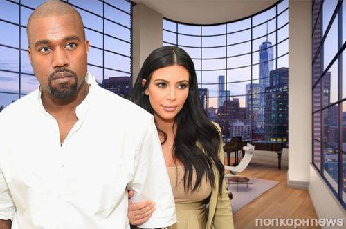 Ким Кардашьян и Канье Уэст бесплатно получат в аренду роскошный пентхаус на Манхэттене