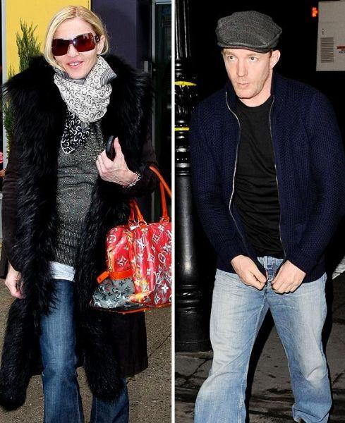 Гай Ричи посетил квартиру Мадонны в Нью-Йорке