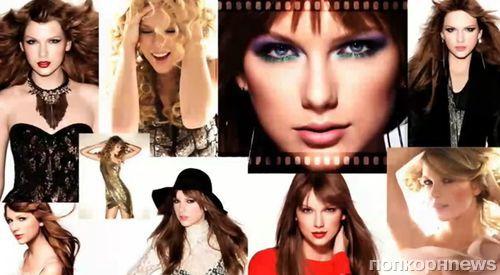 Тэйлор Свифт на съемках рекламной кампании Covergirl