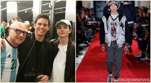 16-летний сын Джеймса Марсдена дебютировал на подиуме Dolce & Gabbana