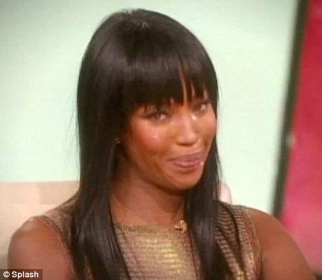Наоми Кэмпбелл плачет на шоу Опры