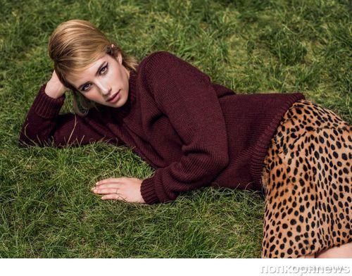 Эмма Робертс в журнале Flaunt