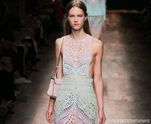 Модный показ новой коллекции Valentino. Весна / лето 2015