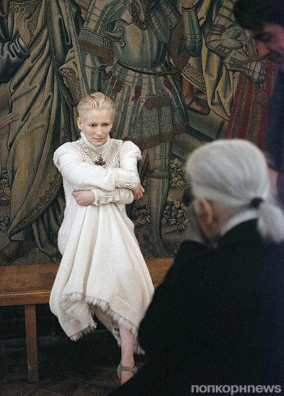 Тильда Суинтон стала новым лицом Chanel